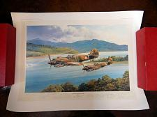 Buy Chennault's Flying Tigers Signed Robert Taylor Print #1075 COA, Tex Hill etc.