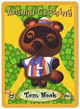 Buy Tom Nook 061 Animal Crossing E-Reader Card Nintendo GBA