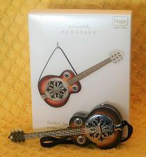 Buy Hallmark Rockin' Around the Christmas Tree Guitar Ornament Magic Sound 2011