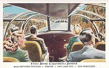 Buy Vista Dome California Zephyr Daily Chicago - San Francisco Vintage Postcard
