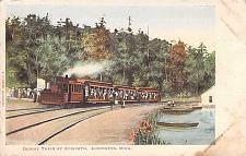 Buy Dummy Train at Epworth, Ludington, Mich Vintage Postcard