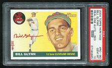 Buy 2004 TOPPS HERITAGE REAL ONE RED AUTO BILL GLYNN PSA 10 GEM MINT (27180685)
