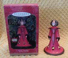 Buy Hallmark Keepsake Star Wars Queen Amidala Figure Christmas Ornament 1999 W/Box