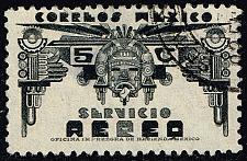 Buy Mexico #C65 Symbols of Air Service; Used (0Stars) |MEXC065-02XRS