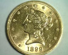 Buy 1899 TEN DOLLAR LIBERTY GOLD UNCIRCULATED+ UNC.+ NICE ORIGINAL COIN BOBS COINS