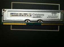 Buy Genuine Gateway 256 MB For Gateway 700 Series 700C (RDRAM)
