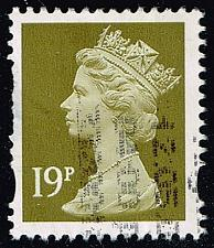 Buy Great Britain #MH254A Machin Head; Used (2.25) (1Stars) |GBRMH254A-01XVA