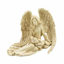 Buy *18850U - Angel & Child Figurine Inspirational Religious Statue