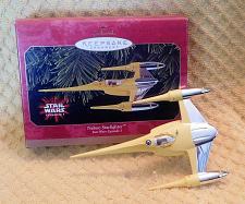 Buy Hallmark Keepsake Star Wars Naboo Starfighter Christmas Ornament 1999