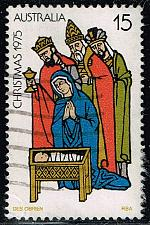 Buy Australia #626 Christmas-Adoration of the Kings; Used (0.25) (4Stars) |AUS0626-02XBC