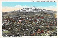 Buy Fisher's Peak, Bird's Eye View of Trinidad, Colo. Unused Vintage Postcard