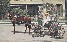 Buy Decorated Vehicle Rose City Festival Portland Hand Tinted Vintage Postcard