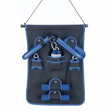 Buy *16681U - 6-Piece Family Fitness Exersize Set Black w/Blue Trim