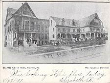 Buy The Odd Fellow's Home, Meadville PA Vintage Postcard