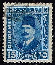 Buy Egypt #139 King Fuad; Used (0.25) (2Stars) |EGY0139-02XBC