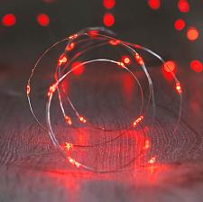 Buy :10843U - 20 LED Copper Wire Red Fairy Lights