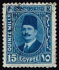 Buy Egypt #139 King Fuad; Used (0.25) (3Stars) |EGY0139-04XBC