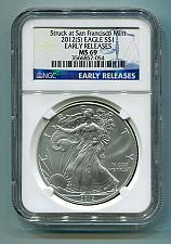 Buy 2012(S) SILVER EAGLE SAN FRANCISCO MINT LABEL NGC MS69 EARLY RELEASES BLUE LABEL
