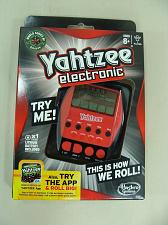 Buy New Hasbro Electronic Yahtzee Game In Original Pack Ages 8+