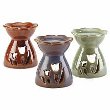Buy 33646U - Tulip Cutout Flower Porcelain Oil Warmers 3 PK