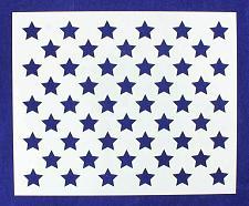 "Buy 50 Star Field Stencil 14 Mil -10 1/4""H x 12 1/2""W - Painting /Crafts/ Templates"