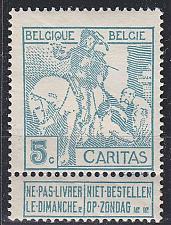 Buy BELGIEN BELGIUM [1910] MiNr 0083 I ( */mh )