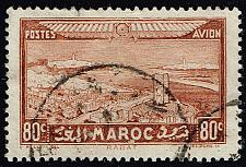 Buy French Morocco #C15 Rabat; Used (2Stars) |FRMC15-01