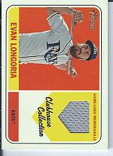 Buy Evan Longoria 2018 Topps Heritage Clubhouse Collection Jersey Relic