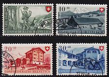 Buy SCHWEIZ SWITZERLAND [1948] MiNr 0508-11 ( O/used ) [03] Pro Patria