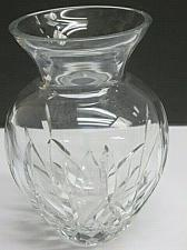 Buy Hand Cut glass vase hand polished 24% lead crystal custom