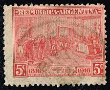Buy Argentina #220 Declaration of Independence; Used (0.30) (1Stars) |ARG0220-03XBC