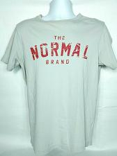 Buy The Normal Brand Mens T-Shirt Small Gray Short Sleeve Crew Neck