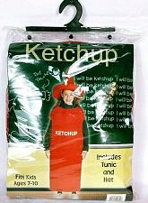 Buy Ketchup Squeeze Bottle Kid's Halloween Costume Party Gag Fits Age 7-10