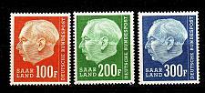 Buy GERMANY Saar [1957] MiNr 0409 ex ( **/mnh ) [01] die Spitzen