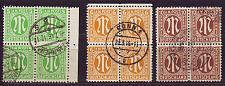 Buy GERMANY Alliiert AmBri [1945] MiNr 0001 ex ( O/used ) [01] 4er
