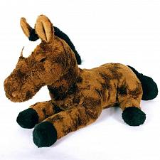 "Buy FAO Schwarz Fifth Avenue Brown White Horse Plush Stuffed Animal 22"""