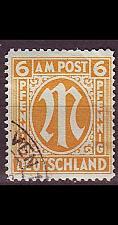 Buy GERMANY Alliiert AmBri [1945] MiNr 0013 B ( O/used )