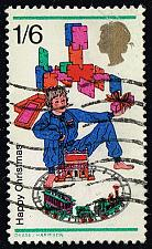 Buy Great Britain #574 Boy with Toy Train; Used (0.35) (2Stars) |GBR0574-01XVA