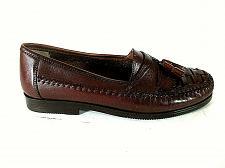 Buy Giorgio Brutini Brown Woven Leather Kilt Tassels Loafer Dress Shoes Men 8 D (SM5