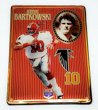 Buy NFL 1993 Metallic Images Quarterback Collection Metal Card #1 STEVE BARTKOWSKI