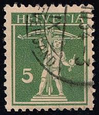 Buy Switzerland #161b William Tell's Son; Used (16.00) (3Stars) |SWI0161b-03XRS