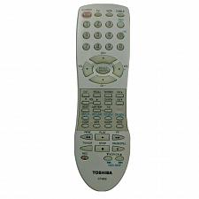 Buy Genuine Toshiba TV VCR Remote Control CT-852 Tested Working