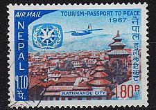 Buy NEPAL [1967] MiNr 0217 ( O/used ) Flugzeug