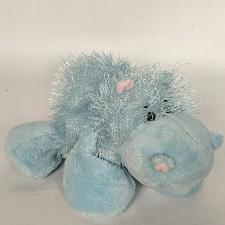 Buy Ganz Webkinz Blue Hippo Hippopotamus Plush Stuffed Animal HM009 No Code 9""