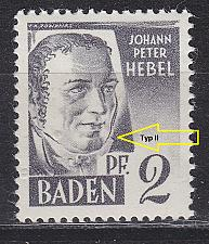 Buy GERMANY Alliiert Franz. Zone [Baden] MiNr 0001 yv II ( **/mnh ) [01]