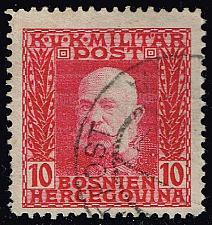 Buy Bosnia-Herzegovina #70 Emperor Franz Josef; Used (0.25) (3Stars) |BOS0070-06XRS