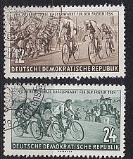 Buy GERMANY DDR [1954] MiNr 0426-27 ( O/used ) Sport
