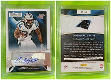 Buy NFL Cameron Artis-payne Panthers Autographed 2015 Panini Prime Signatures Mint