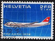 Buy SCHWEIZ SWITZERLAND [1972] MiNr 0968 ( O/used ) Flugzeuge