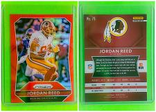 Buy NFL JORDAN REED WASHINGTON REDSKINS 2015 PANINI PRIZM REFRACTOR #79 MINT